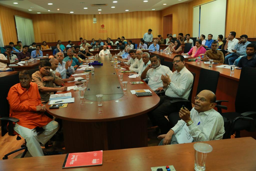 Discussion on draft National Education Policy 2019 held at NAAC, Bengaluru